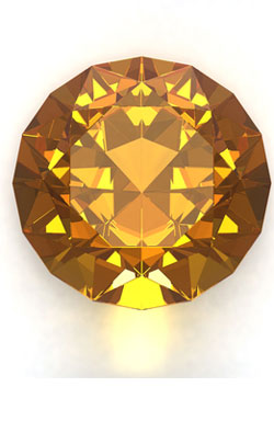 13th year anniversary gemstone theme - citrine image