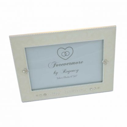 "Forevermore by Regency Happy Anniversary photo frame 6"" x 4"""