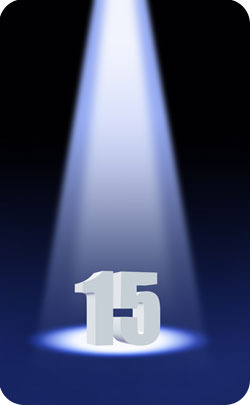 spotlight on 15 year anniversary image