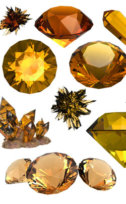 23rd year wedding anniversary appropriate gemstone is imperial topaz