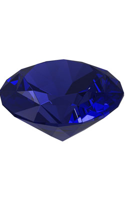 24th year wedding anniversary appropriate gemstone is tanzanite