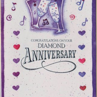 Congratulations on your Diamond Anniversary