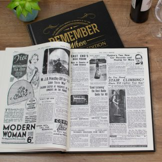 Anniversary Celebration Newspaper Book