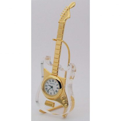 Crystal Electric Guitar Clock