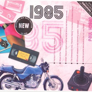 Hit Music of 1985 CD and Greeting Card