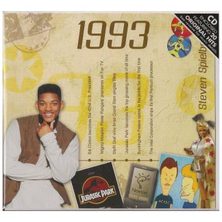 Hit Music CD from 1993 & Greeting Card