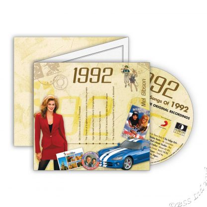 The classic Years 1992 CDCard