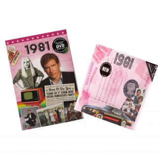 CD & DVD ~ Revisit the Music & News of 1981