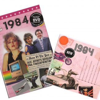 CD & DVD ~ Revisit the Music & News of 1984