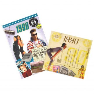 CD & DVD ~ Revisit the Music & News of 1990