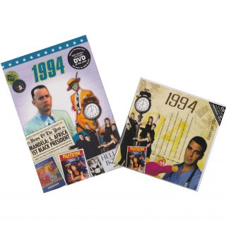 CD & DVD ~ Revisit the Music & News of 1994