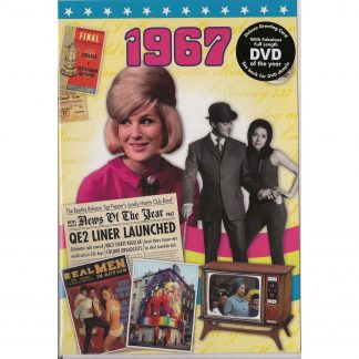 DVD with Memories from 1967 and a Greeting Card in one