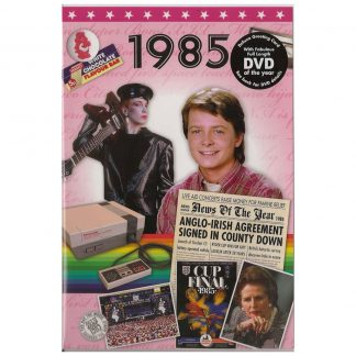 Reminisce 1985 with DVD and Greeting Card