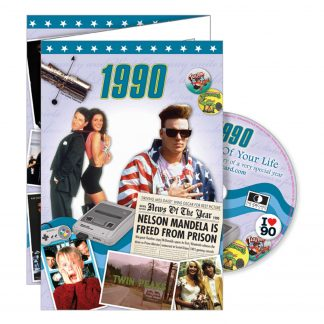 Reminisce 1990 with DVD and Greeting Card