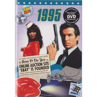 Reminisce 1995 with DVD and Greeting Card