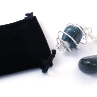 Moss Agate Keychain