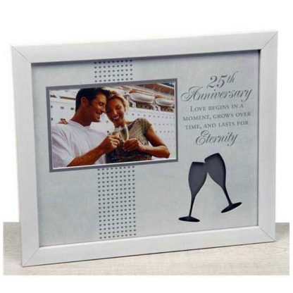 25th Anniversary Photo Frame - Moments