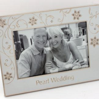Pearl Wedding 30th Anniversary 6″ x 4″ Photo Frame