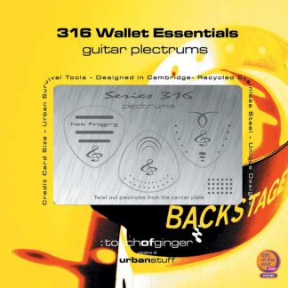 Stainless Steel 316 Wallet Guitar Plectrums