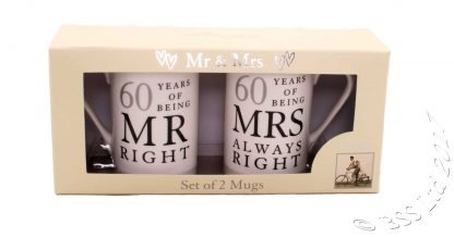 60th Wedding Anniversary Gift Set
