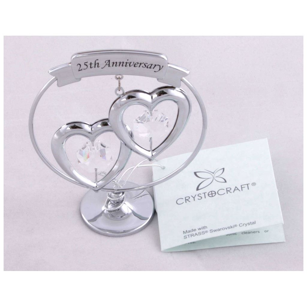 Contemporary Crystal Gift Ideas 15th Wedding Anniversary Motif The