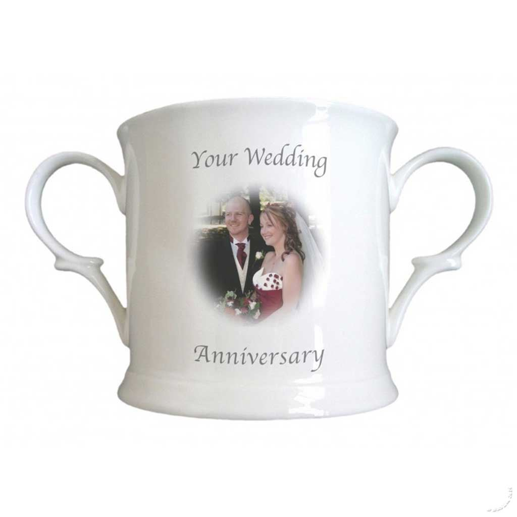 What Is The Gift For 20th Wedding Anniversary: Personalised Wedding Anniversary Loving Cup