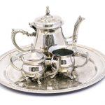 modern wedding anniversary gifts silver plate