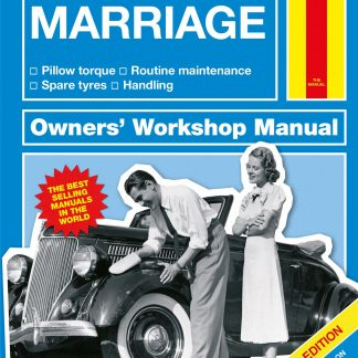 1st anniversary gifts ~ Personalised Haynes Explains Marriage Book