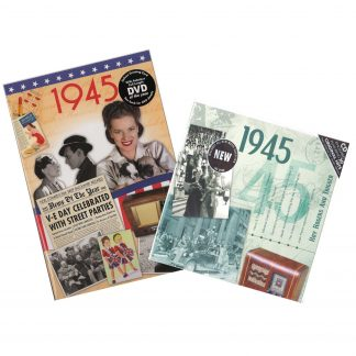 73rd Anniversary or Birthday gifts CD & DVD ~ Revisit the Music and News of 1945 items view