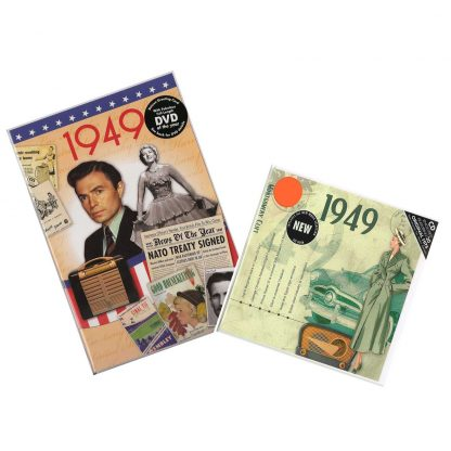 69th Anniversary or Birthday gifts CD & DVD ~ Revisit the Music and News of 1949 items view