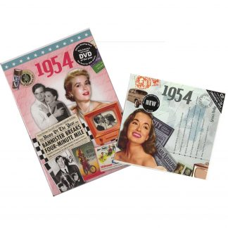 64th Anniversary or Birthday gifts CD & DVD ~ Revisit the Music and News of 1954 items view