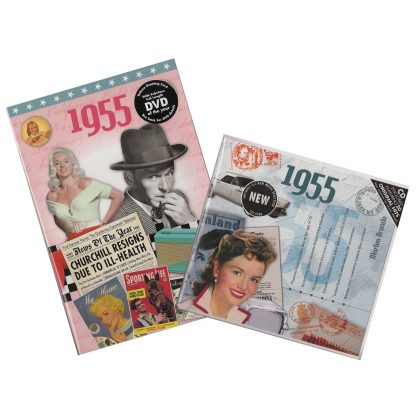 63rd Anniversary or Birthday gifts CD & DVD ~ Revisit the Music and News of 1955 items view