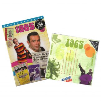 53rd Anniversary or Birthday gifts CD & DVD ~ Revisit the Music and News of 1965 items view