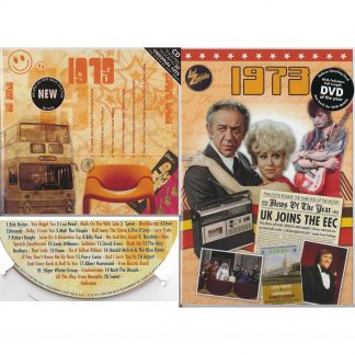45th Anniversary or Birthday gifts CD & DVD ~ Revisit the Music and News of 1973 items view