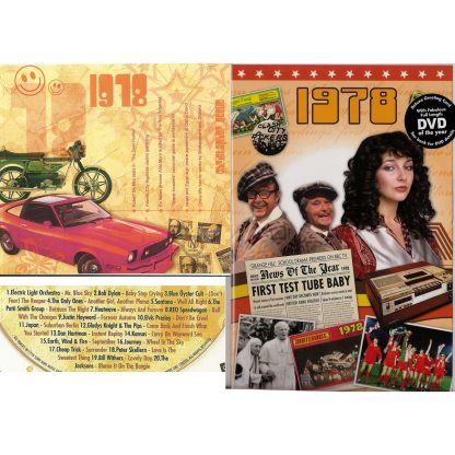 40th Anniversary or Birthday gifts CD & DVD ~ Revisit the Music & News of 1978 items view