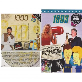 25th Anniversary or Birthday gifts CD & DVD ~ Revisit the Music with News of 1993 view of products