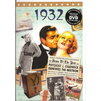 1932 The Time of Your Life DVDCard front view