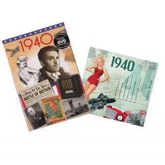 CD & DVD ~ Revisit the Music & News of 1940