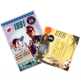 27th Anniversary Or Birthday Gifts CD & DVD ~ Revisit The Music & News Of 1991