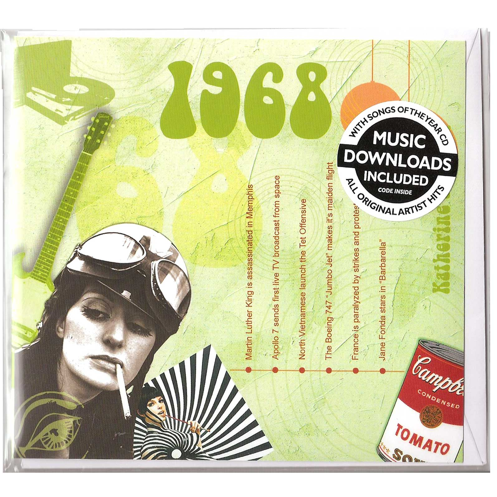 Hit Music Of 1968
