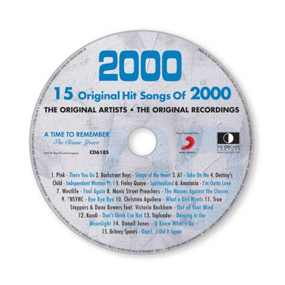 A Time to Remember The Classic Years Music of 2000 CD