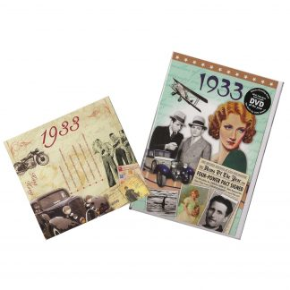 Combined CD & DVD Gift Set - 1933