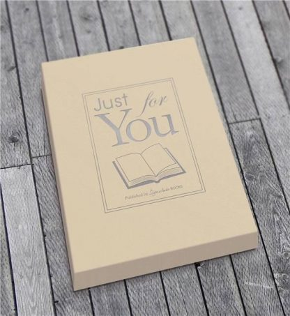 Our First Year - Wedding / 1st Anniversary Book gift box