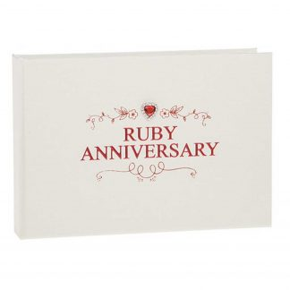 ruby anniversary photo album