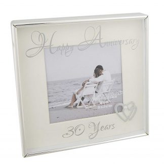 Happy Anniversary 30 years Photo Frame 3 x 3 285654