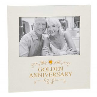 Golden Anniversary Photo Frame 6 x 4