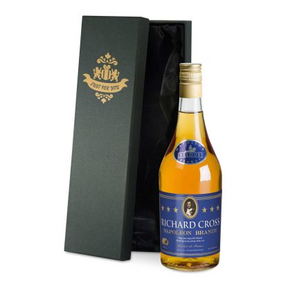 Personalised Bottle of French Napoleon Brandy