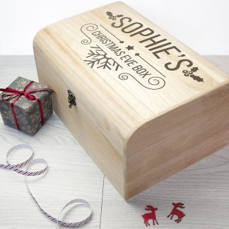 Personalised Christmas Eve Chest