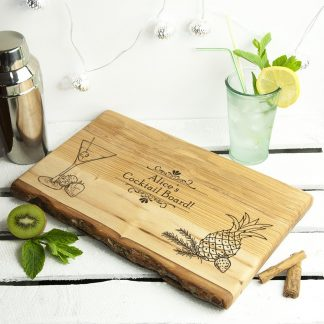 Personalised Cocktail Maker's Cutting Board