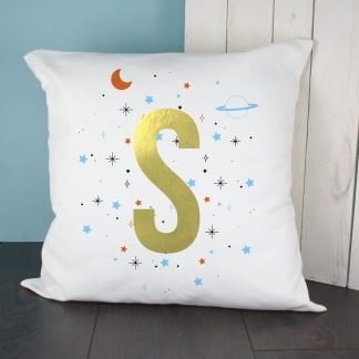 Personalised Space Cushion Cover